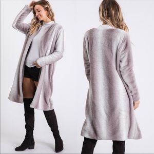 💃🏻Amanda Faux Fur Coat